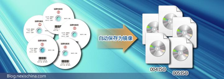 美赛思光盘自动归档备份系统批量制作光盘镜像