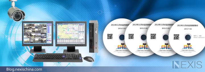 安防监控数据自动刻录备份到光盘